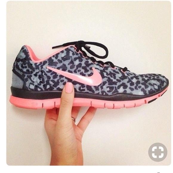 nike leopard trainers
